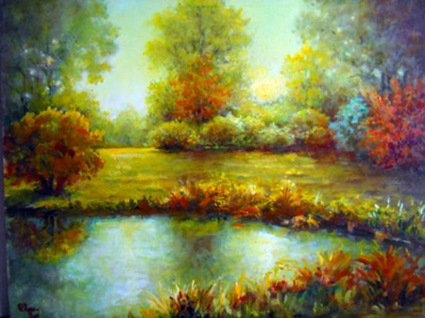 Picturi cu peisaje Luminisul de vis