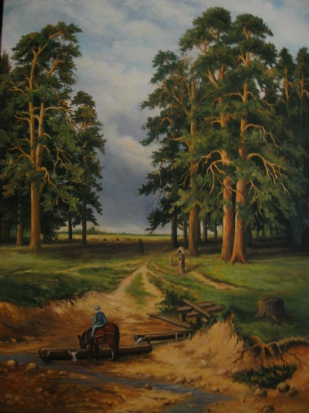 Picturi cu peisaje Drum