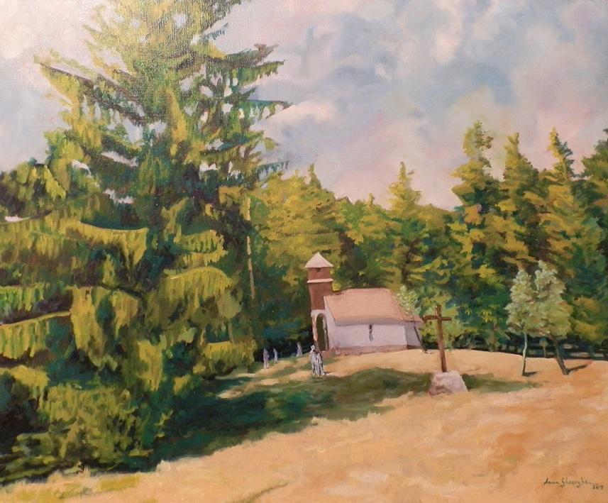 Picturi cu peisaje Capela Sfanta Ana