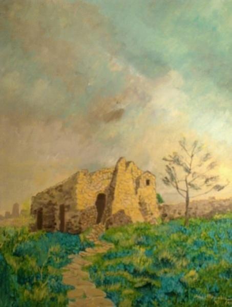 Picturi cu peisaje Inaintea furtunii