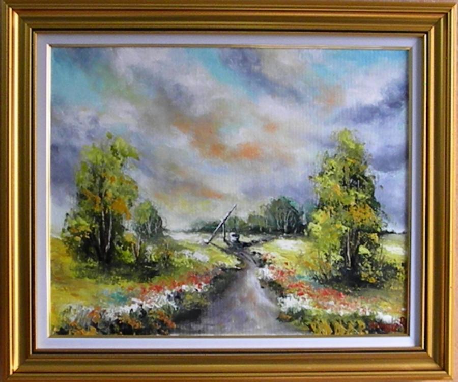 Picturi cu peisaje CAMPUL NESFARSIT 2