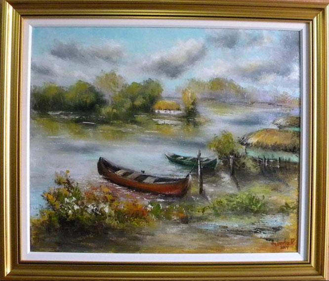Picturi cu peisaje NEMARGINIREA DELTEI