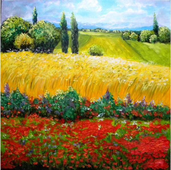 Picturi cu peisaje Privind in zare