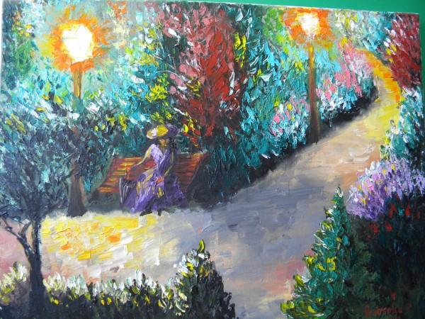Picturi cu peisaje Singuratate