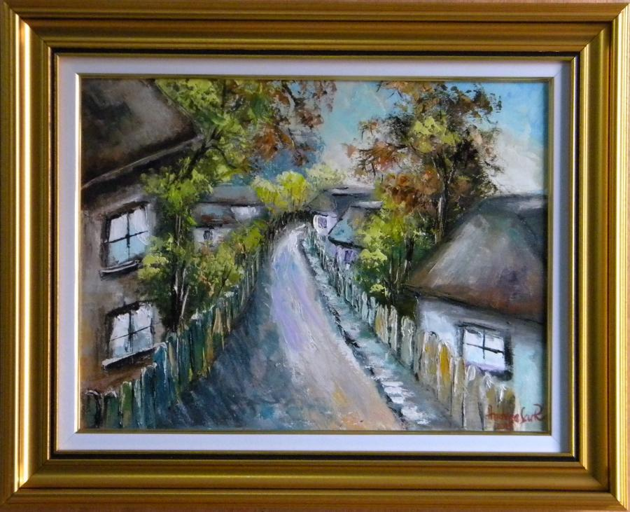 Picturi cu peisaje STRADA VECHE