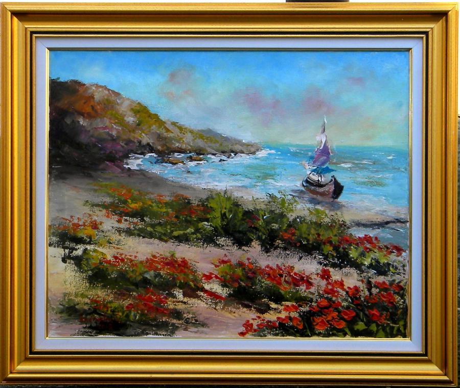 Picturi cu peisaje TARM INFLORIT