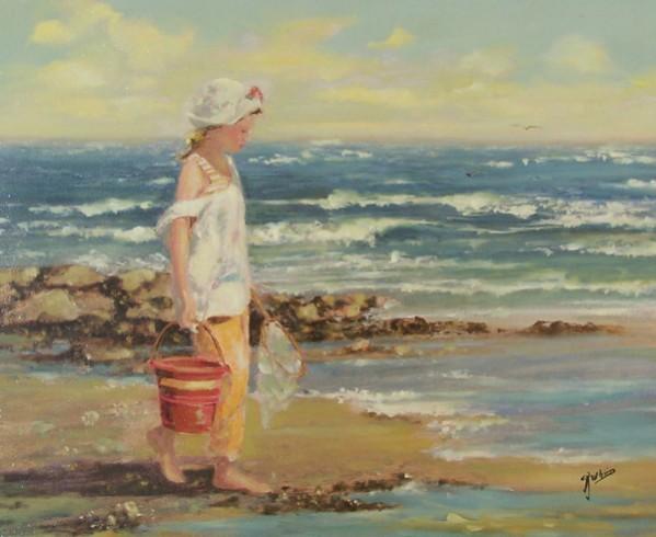Picturi cu peisaje La mare