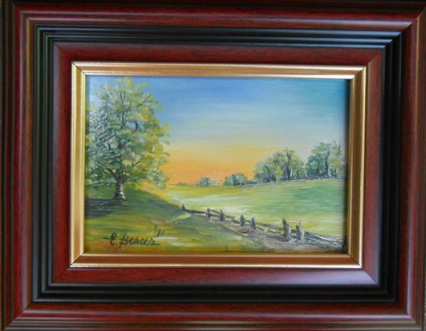 Picturi cu peisaje Miniatura peisaj vara