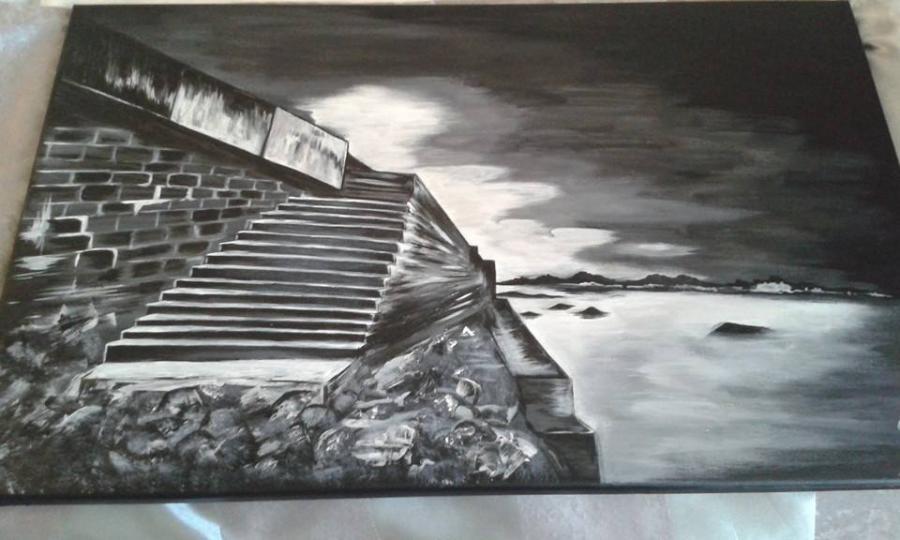 Picturi cu peisaje FALEZA