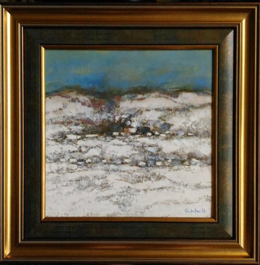 Picturi cu peisaje ''Panorma la Cimpina2''