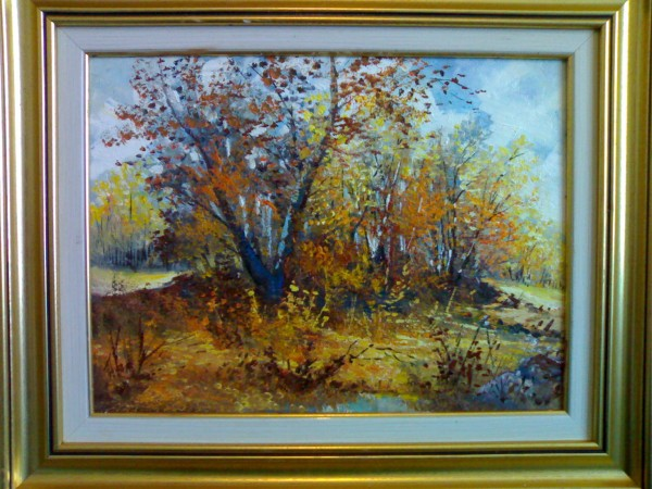 Picturi cu peisaje Copac fara padure