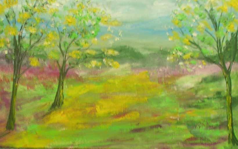 Picturi cu peisaje culori in natura