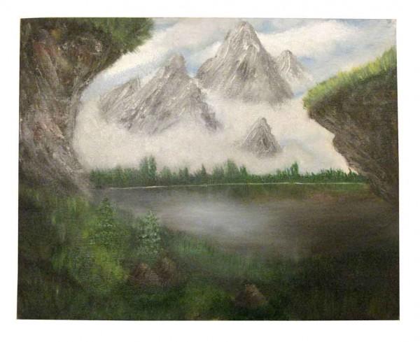 Picturi cu peisaje In ceata