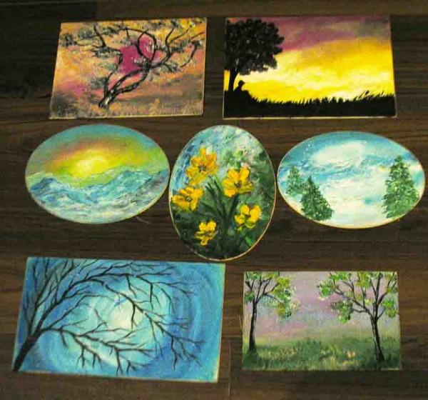 Picturi cu peisaje Minitablouri