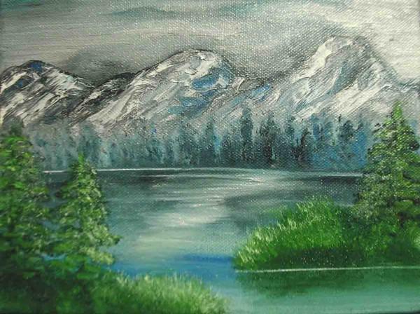 Picturi cu peisaje Tinut de basm