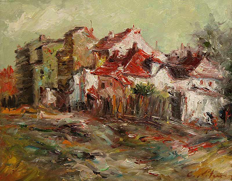 Picturi cu peisaje MARGINE DE ULITA