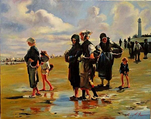 Picturi cu peisaje Scena gen 59