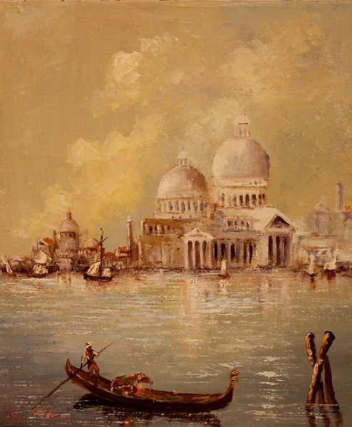 Picturi cu peisaje Venetie 01