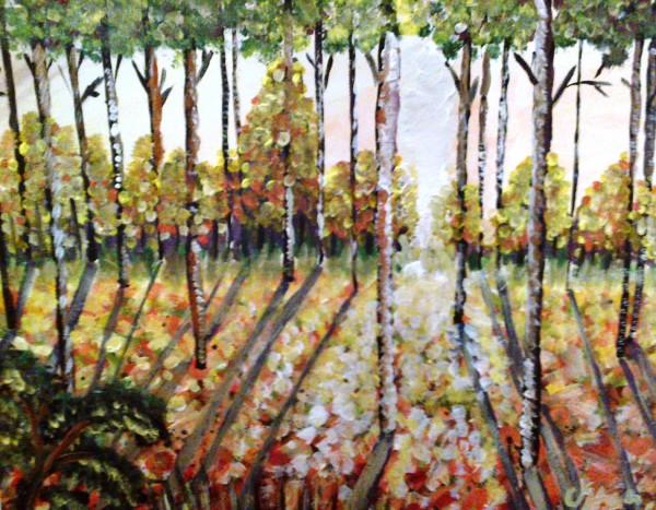 Picturi cu peisaje Plopis