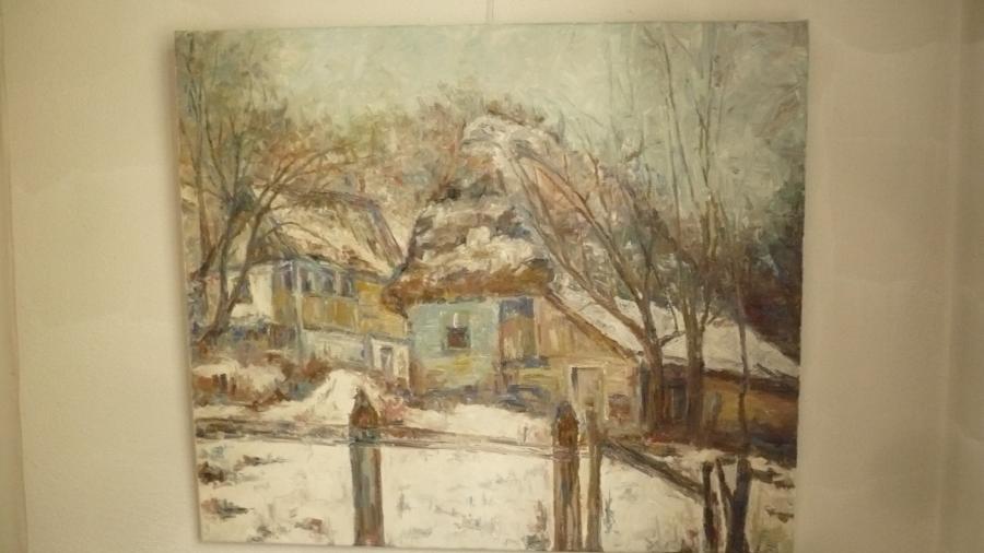 Picturi cu peisaje PEISAJ DE MUNTE5