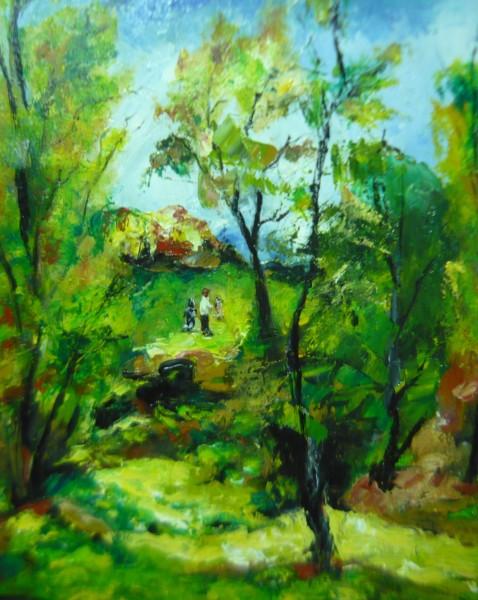 Picturi cu peisaje Intoarcerea la natura