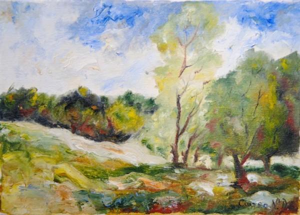 Picturi cu peisaje Peisaj la munte