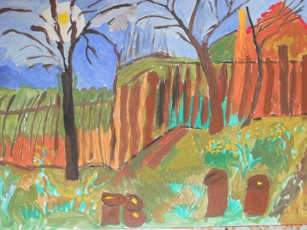 Picturi cu peisaje Casa2