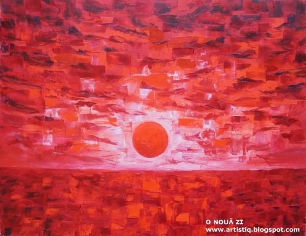 Picturi cu peisaje O noua zi