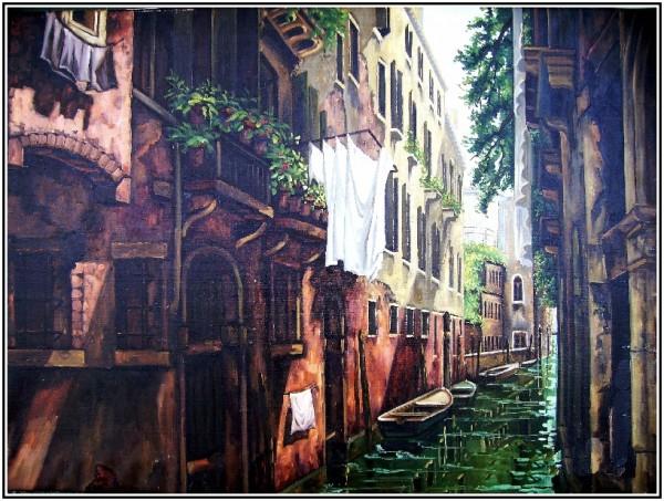 Picturi cu peisaje Venice 5