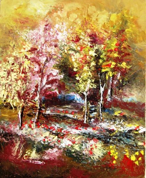 Picturi cu peisaje Amurg 1