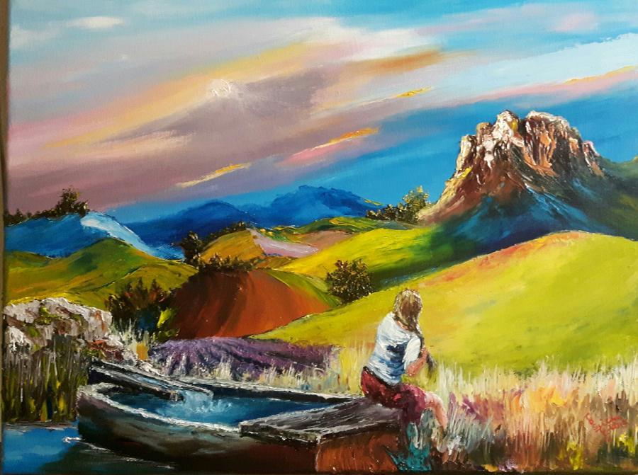 Picturi cu peisaje Provance
