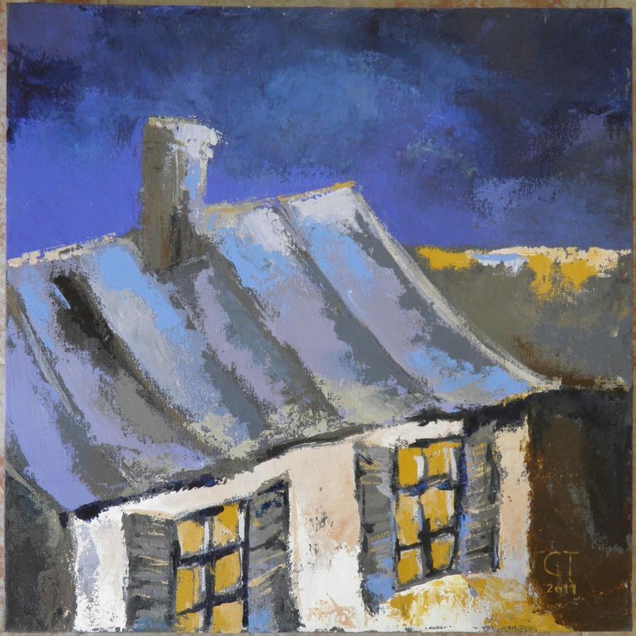 Picturi cu peisaje Ferestrele casei tale
