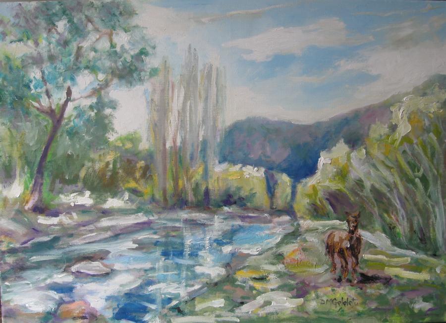 Picturi cu peisaje LA RUCAR