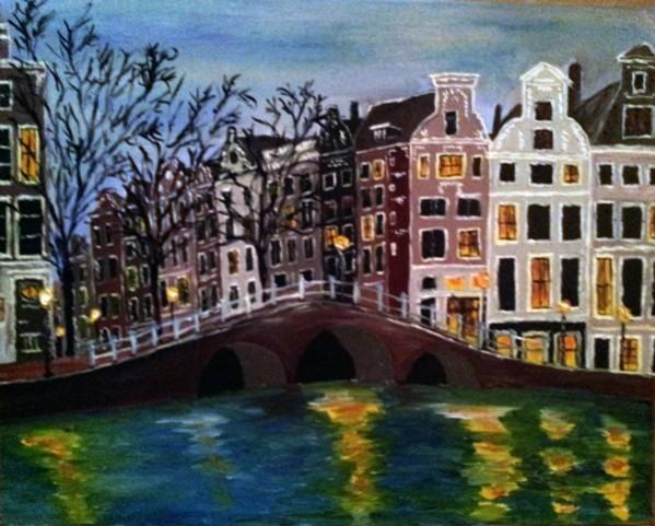 Picturi cu peisaje Amsterdam