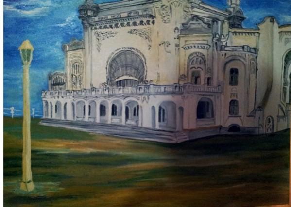 Picturi cu peisaje Cazinoul