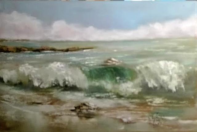 Picturi cu peisaje Mal de mare