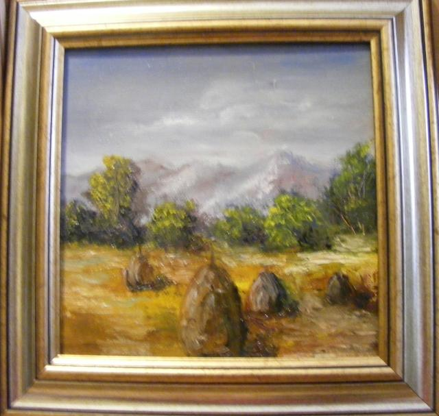 Picturi cu peisaje Vremea capitelor