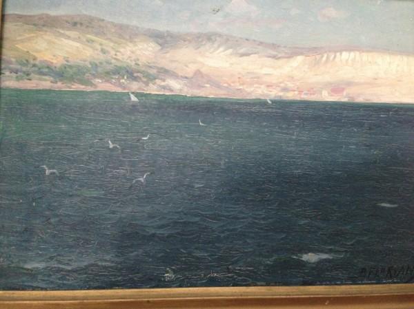Picturi cu peisaje Peisaj de pe mare