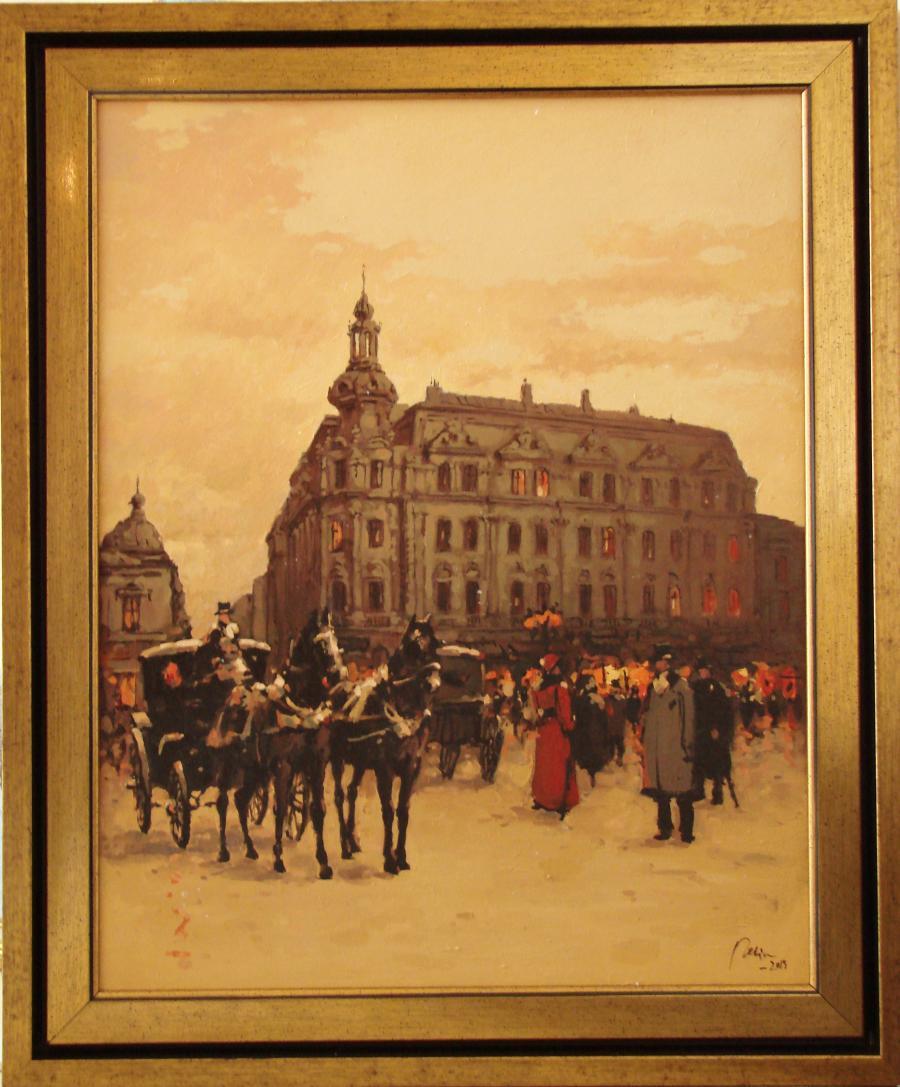 Picturi cu peisaje hotelul continental