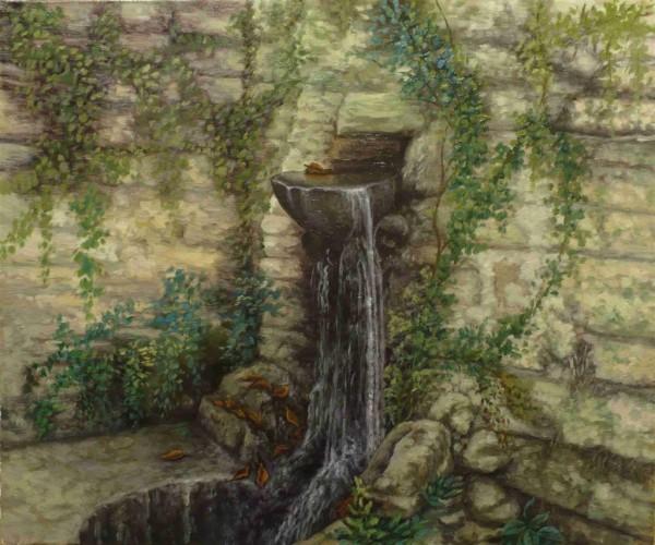 Picturi cu peisaje Izvorul rece