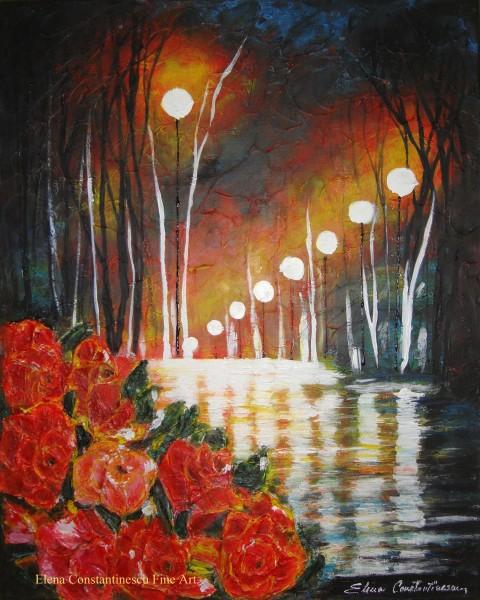 Picturi cu peisaje Dupa ploaie...