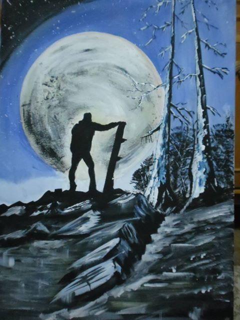 Picturi cu peisaje lunaa