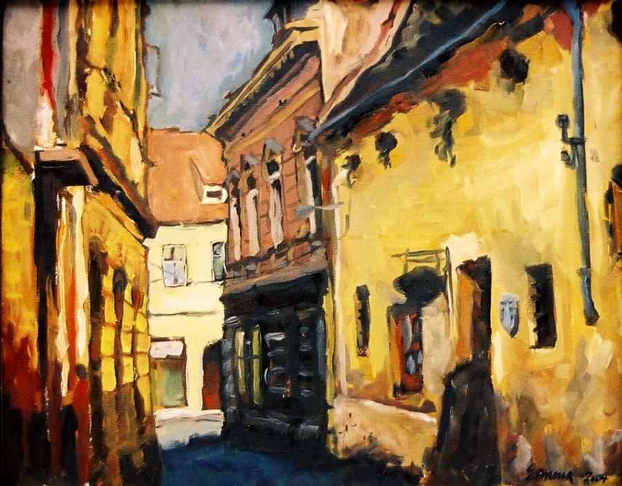 Picturi cu peisaje La Bistro, Brasov