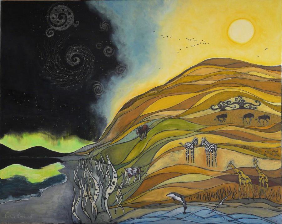 Picturi cu peisaje Nord si sud
