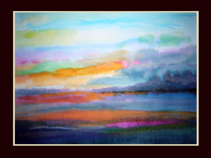Picturi cu peisaje Sunset 13