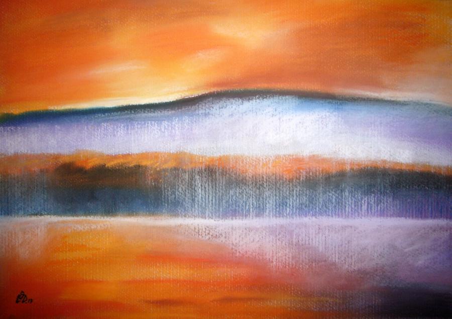 Picturi cu peisaje SunsetReflexion1