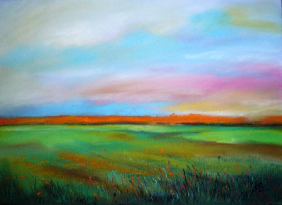 Picturi cu peisaje SunsetReflexion3