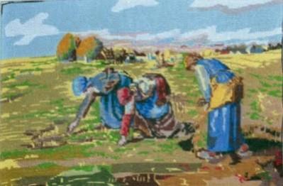 Picturi cu peisaje La cules