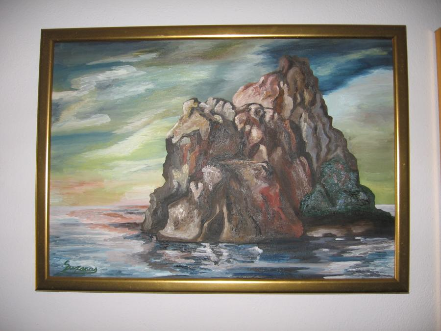 Picturi cu peisaje insula pierduta