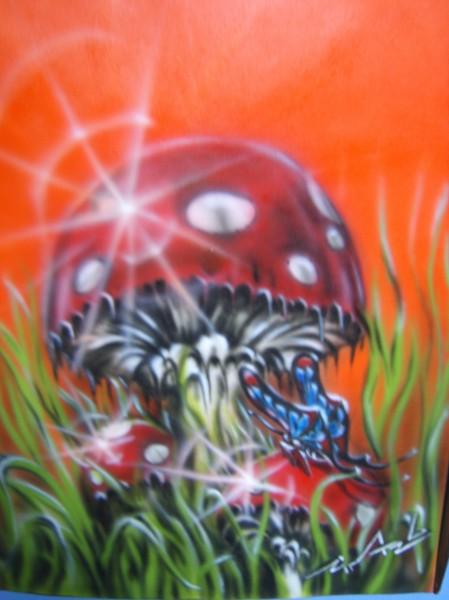 Picturi cu peisaje Ciuperca